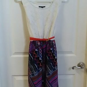 City Triangles Dresses - Juniors size Large belted dress